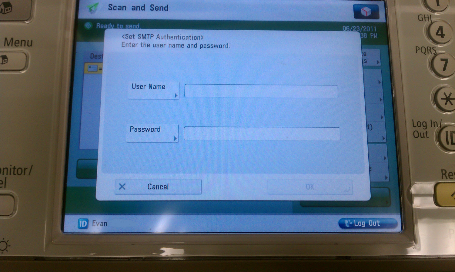 how to send a scan to email